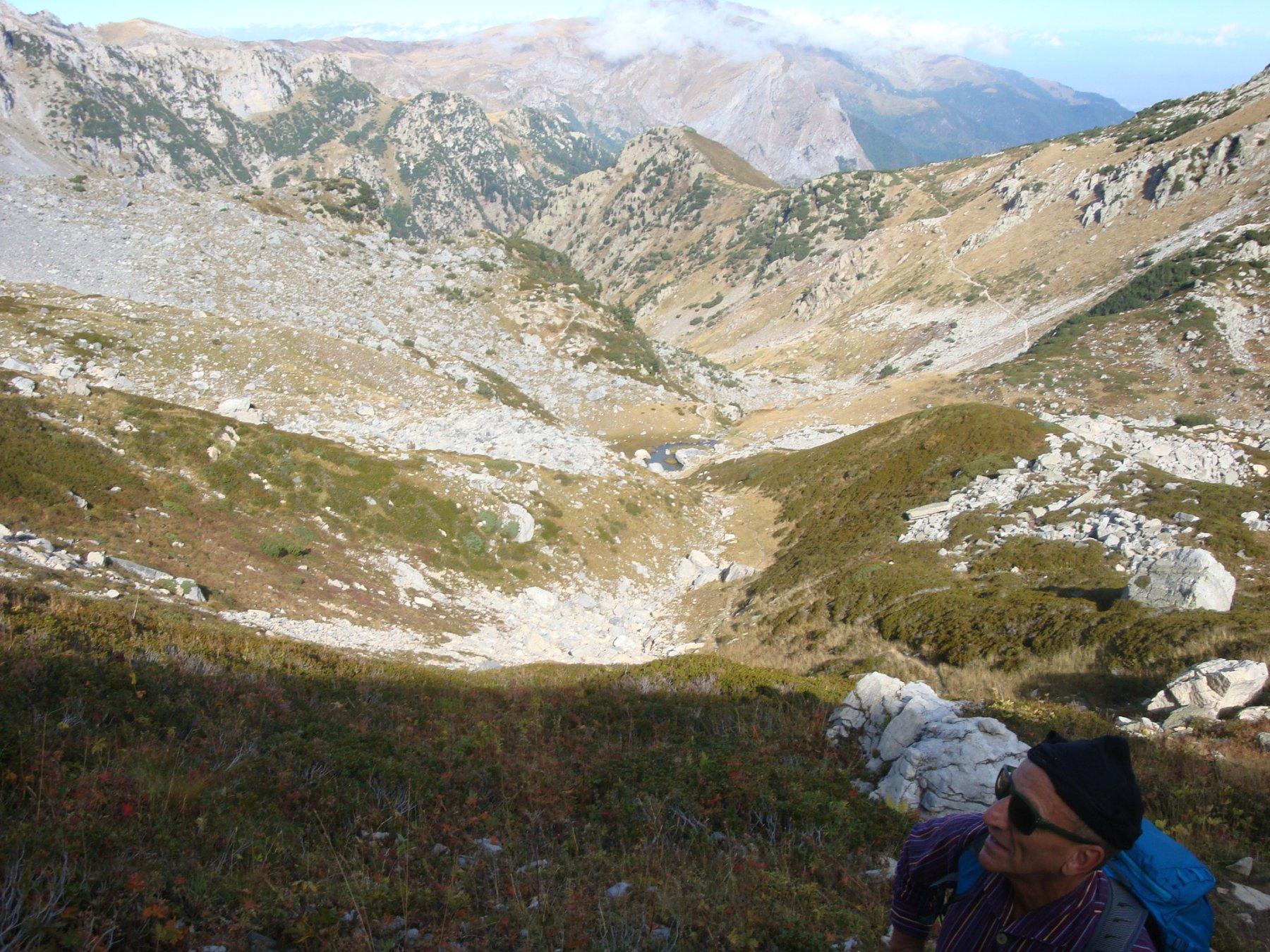 Mimmo e il vallone del Marguareis