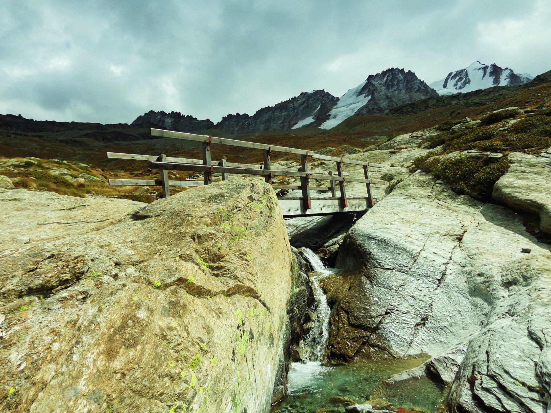 Scendendo all'Alpe Montandayne