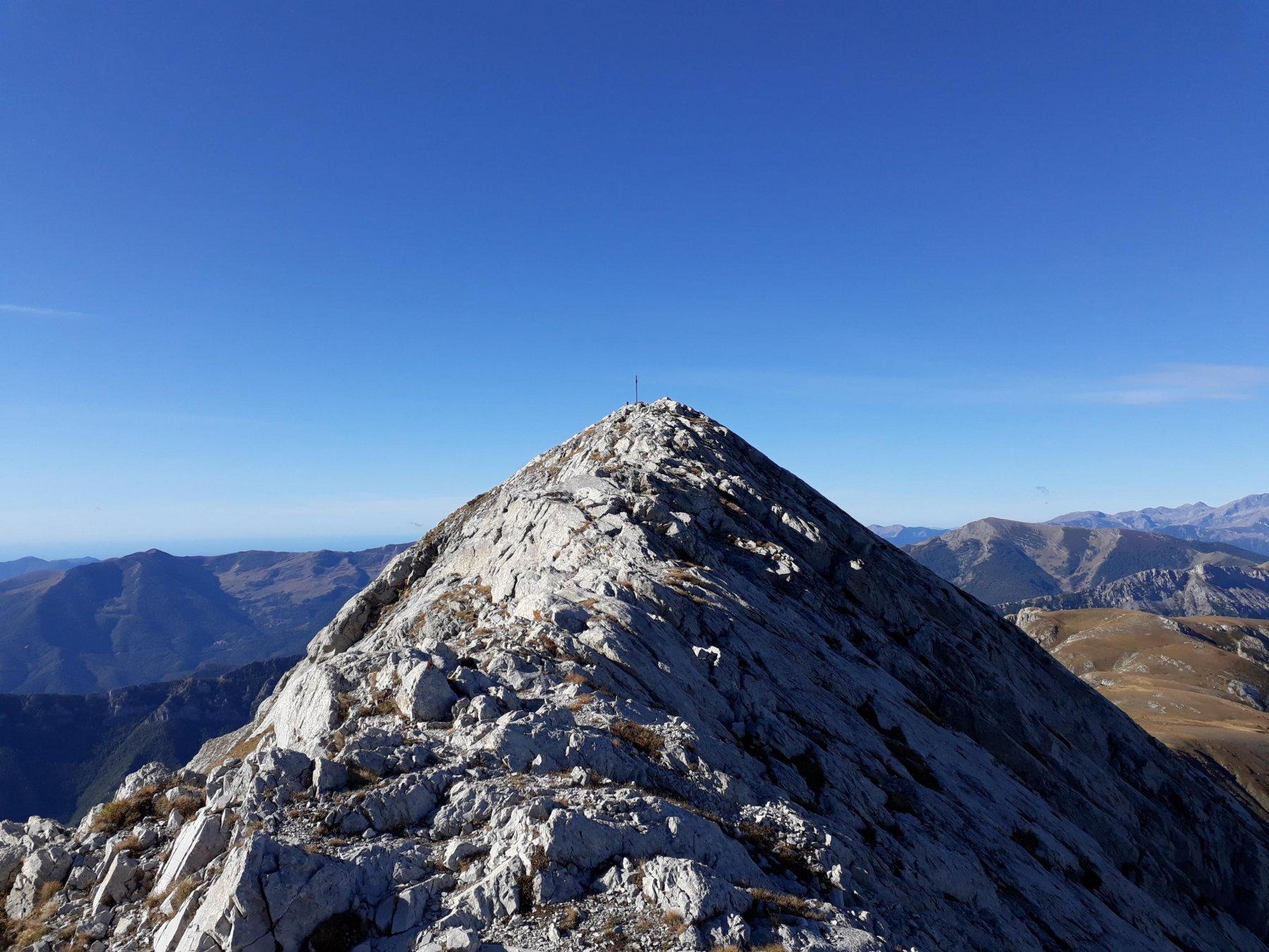 A pochi metri dalla cima