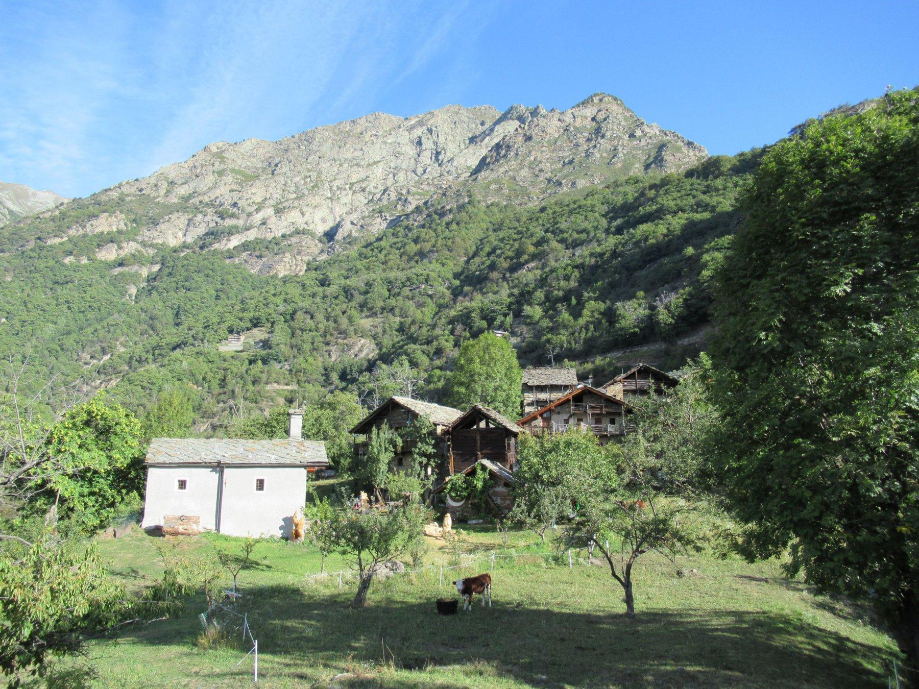 Il piccolo villaggio di Chemp