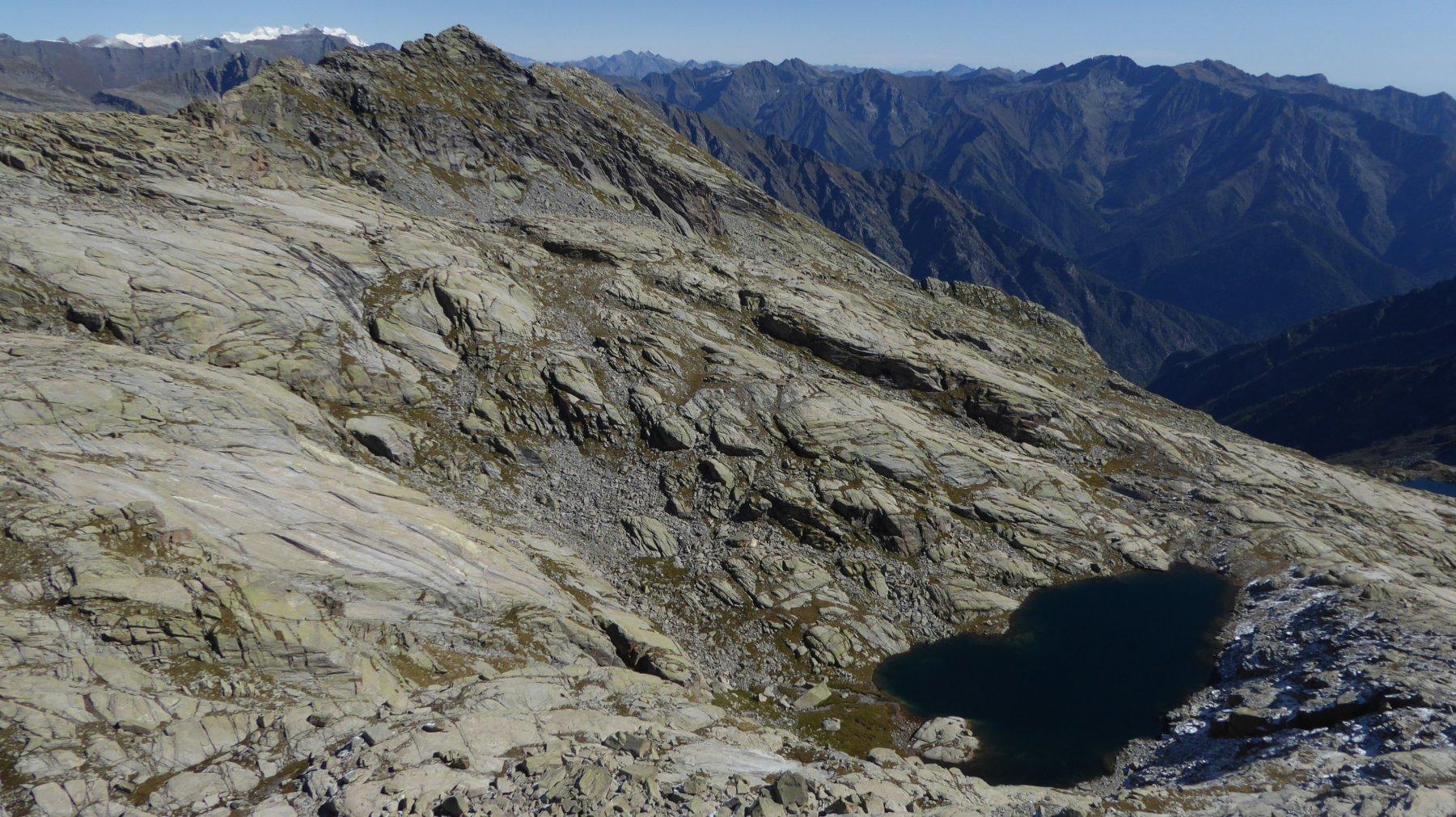 Lago Nero visto da Punta di Losere