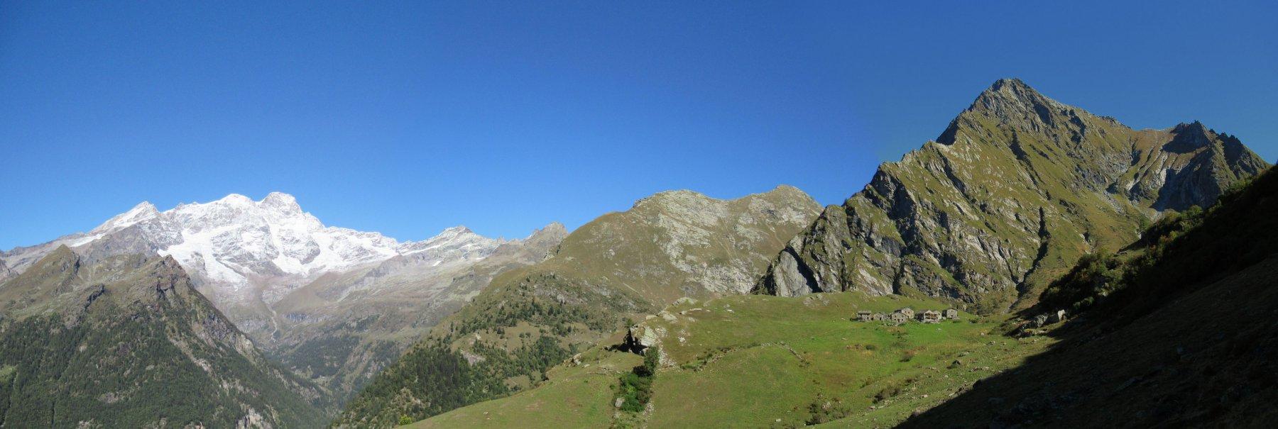 Monte Rosa, Corno Mud e Tagliaferro