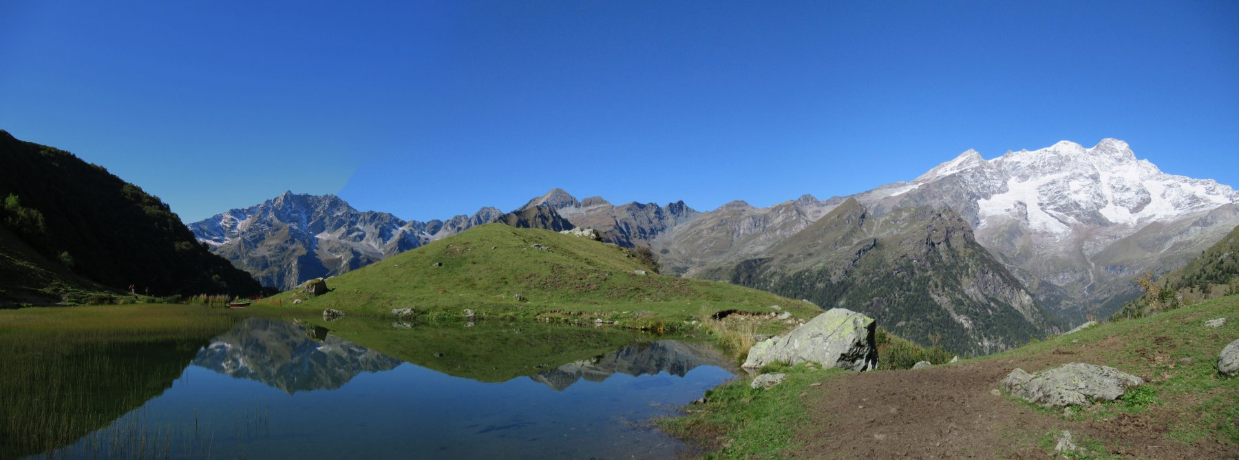 Laghetto all'Alpe Campo
