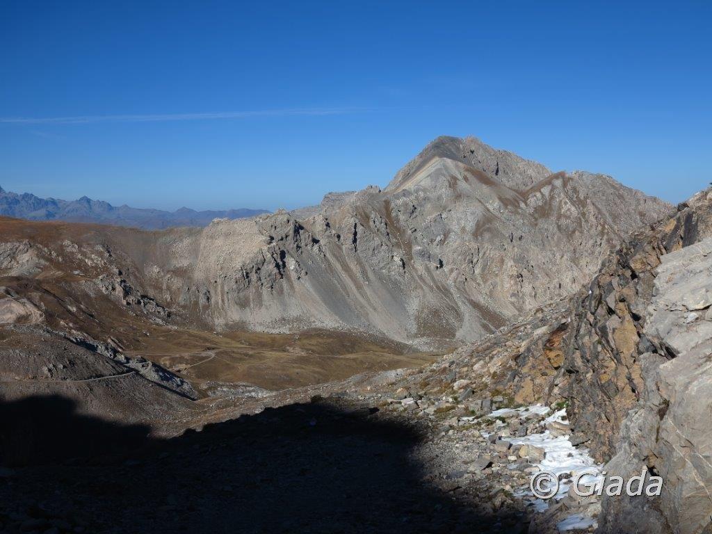 Il Cassorso visto dal Passo di Rocca Brancia
