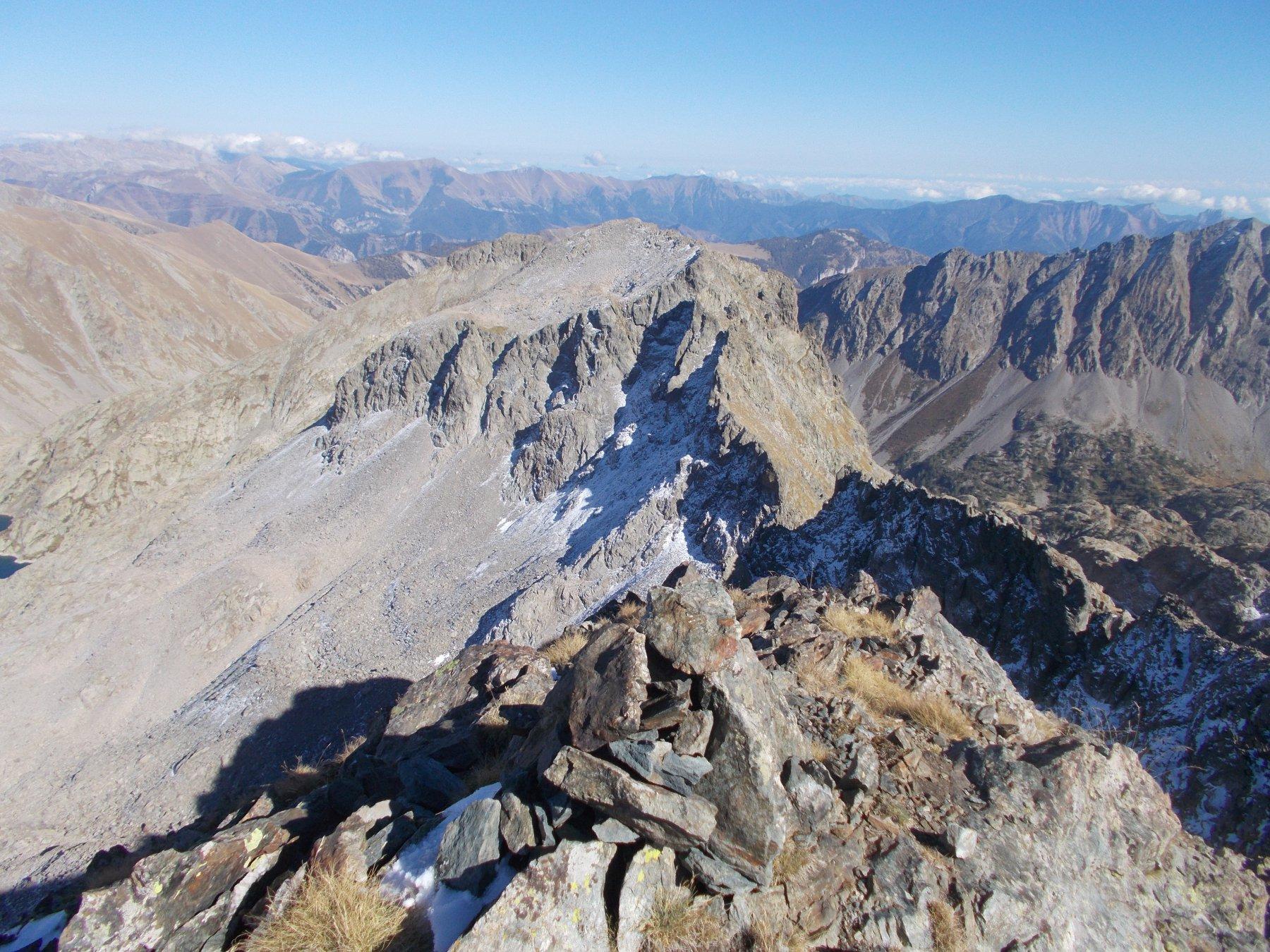 vista sulla Charnassere dalla cima Cossato..
