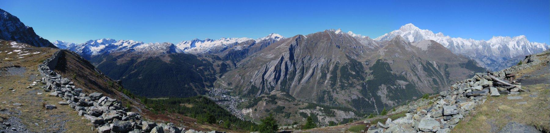 Panorama dal Colle della Croce