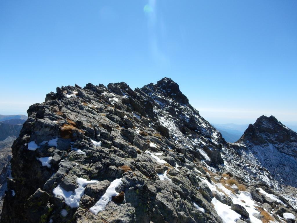 la Viglino vista dalla cresta nord