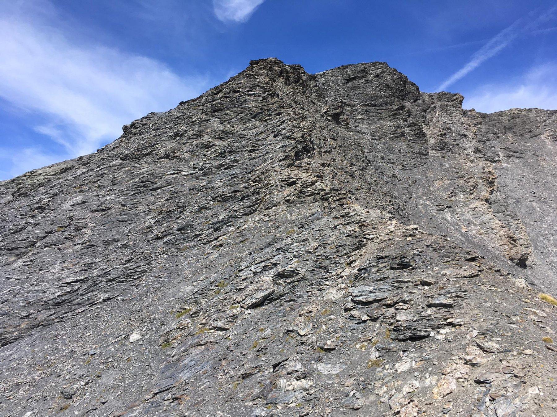 Gran Vallone (Cima del) o Pointe de Peaumont da Rochemolles per il Passo di Roccia Verde 2017-09-22