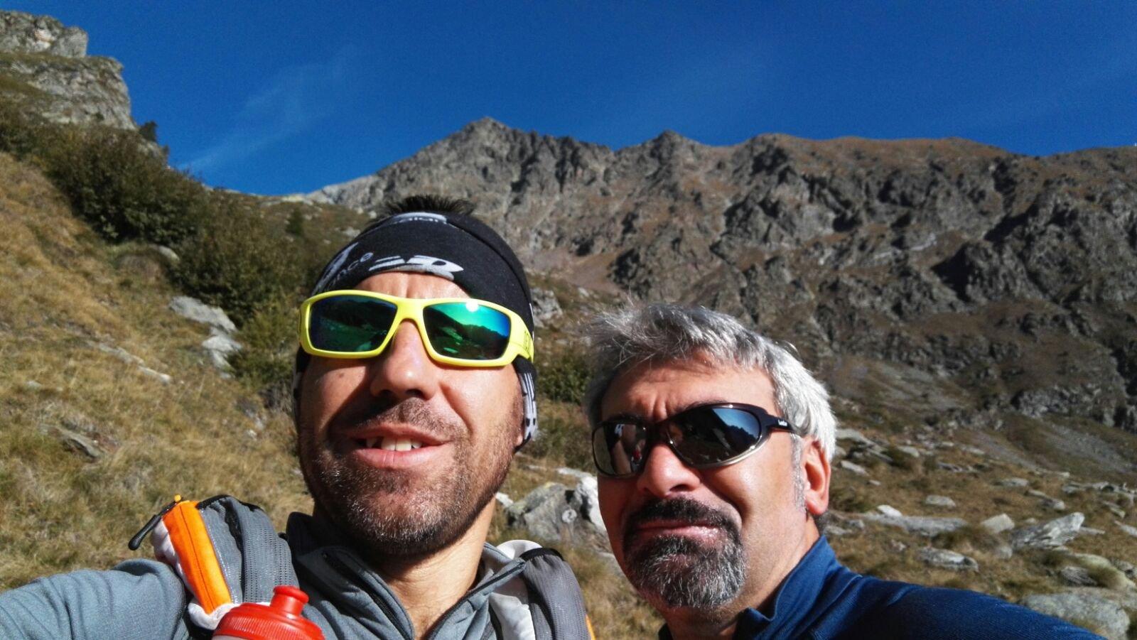 Don Camillo, Peppone ed il Mont Nery sullo sfondo...