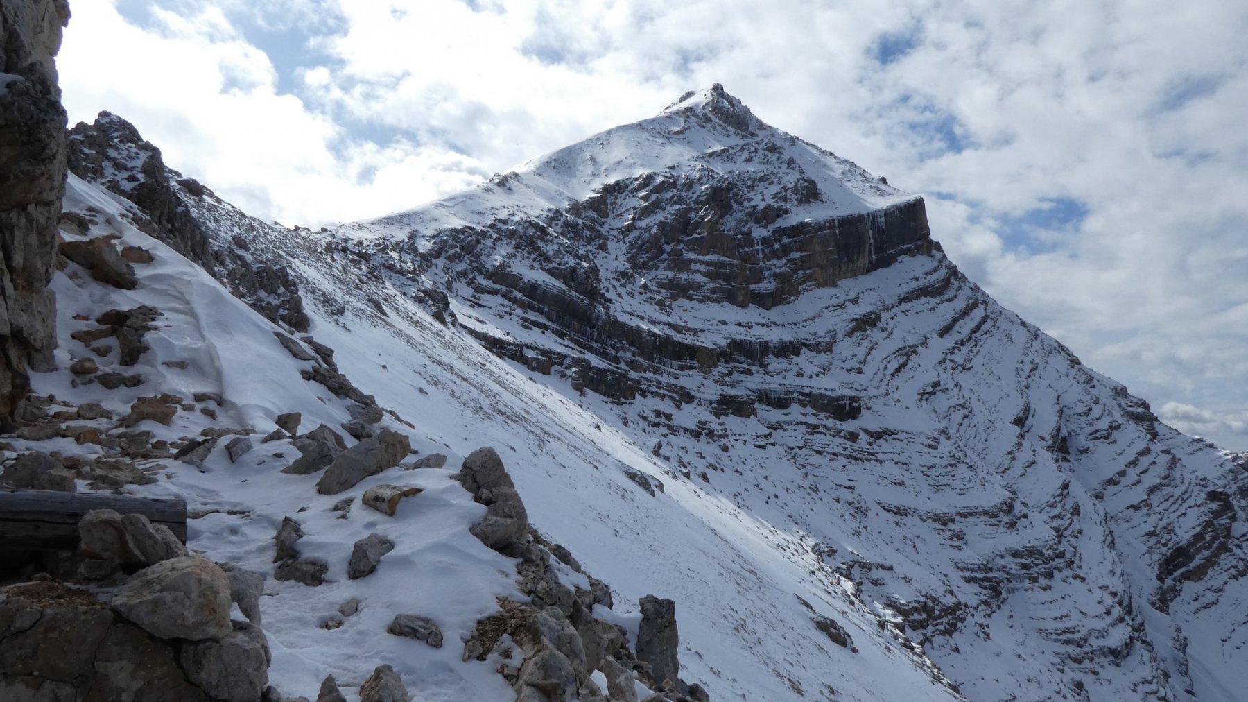 parte alta della bella cresta Nord della Tofana di Dentro