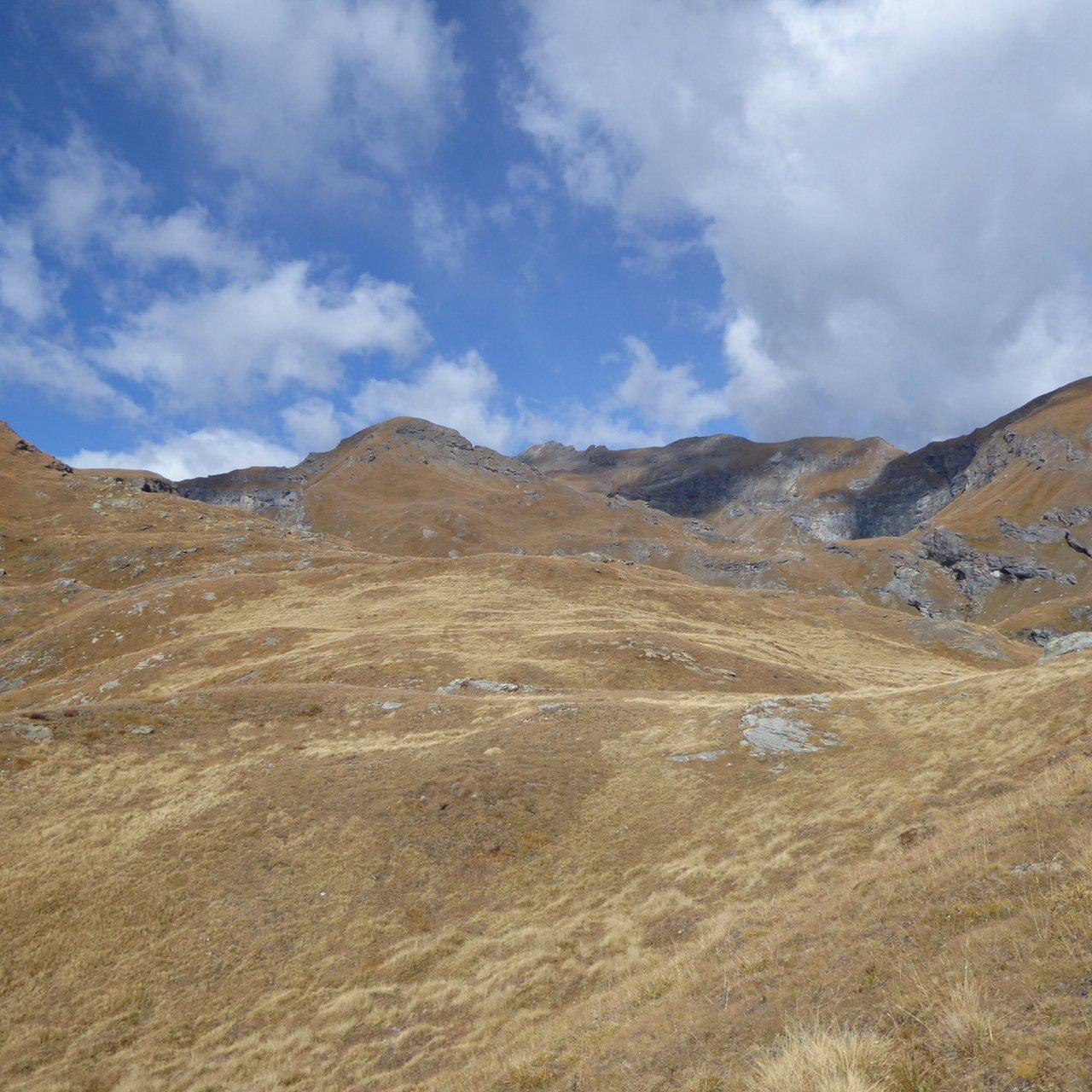 Corno Bussola fotografato sul percorso, ancora un pò lontano...