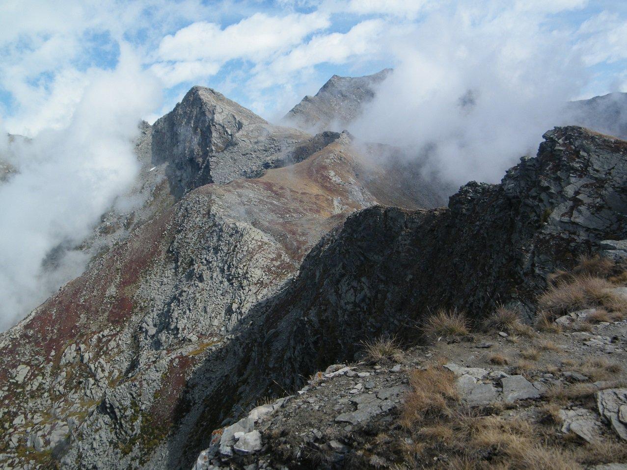 P.ta Founset vista dal Cappello d'Envie.