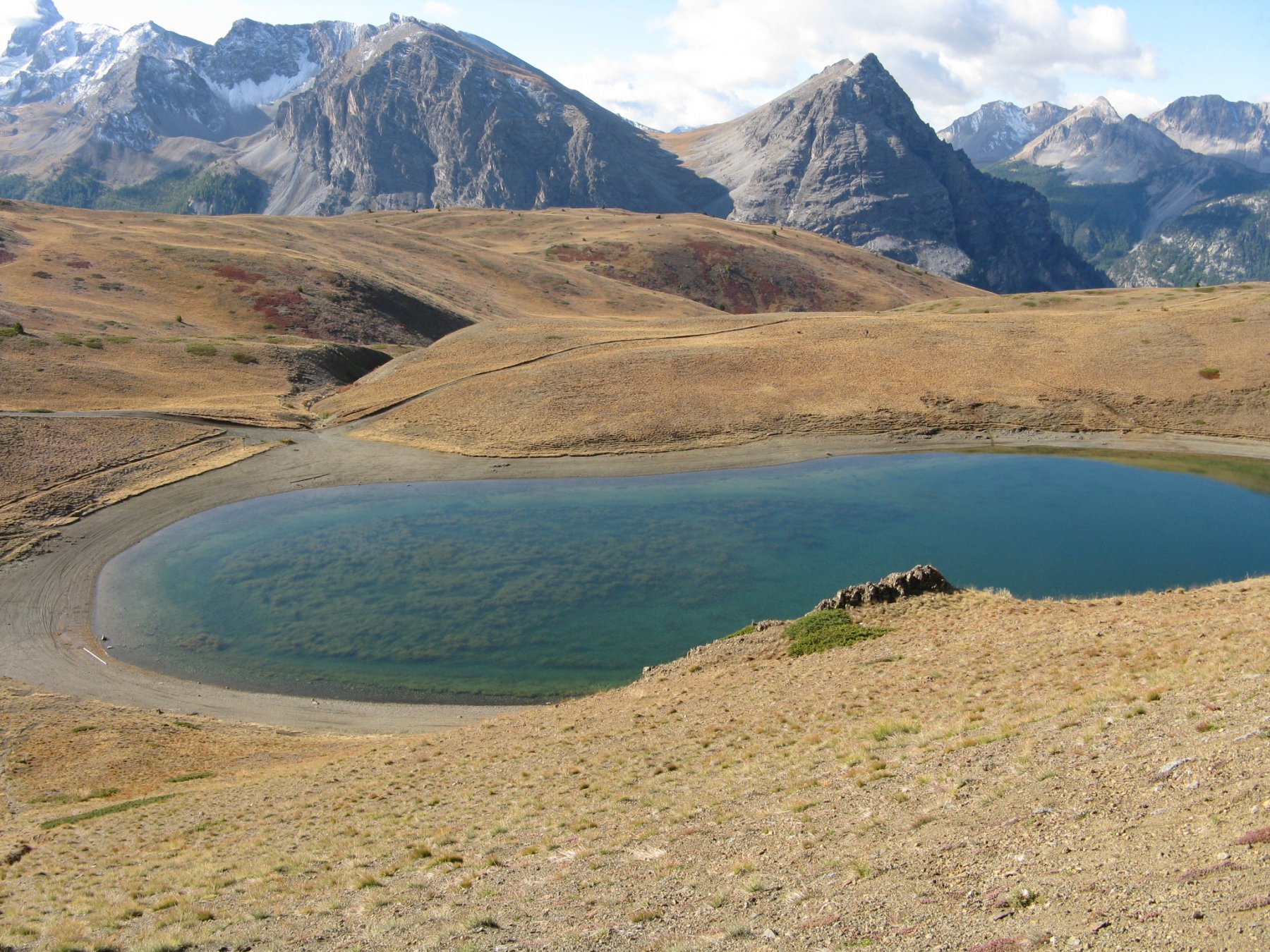 Lago Gignoux o Lago dei 7 colori