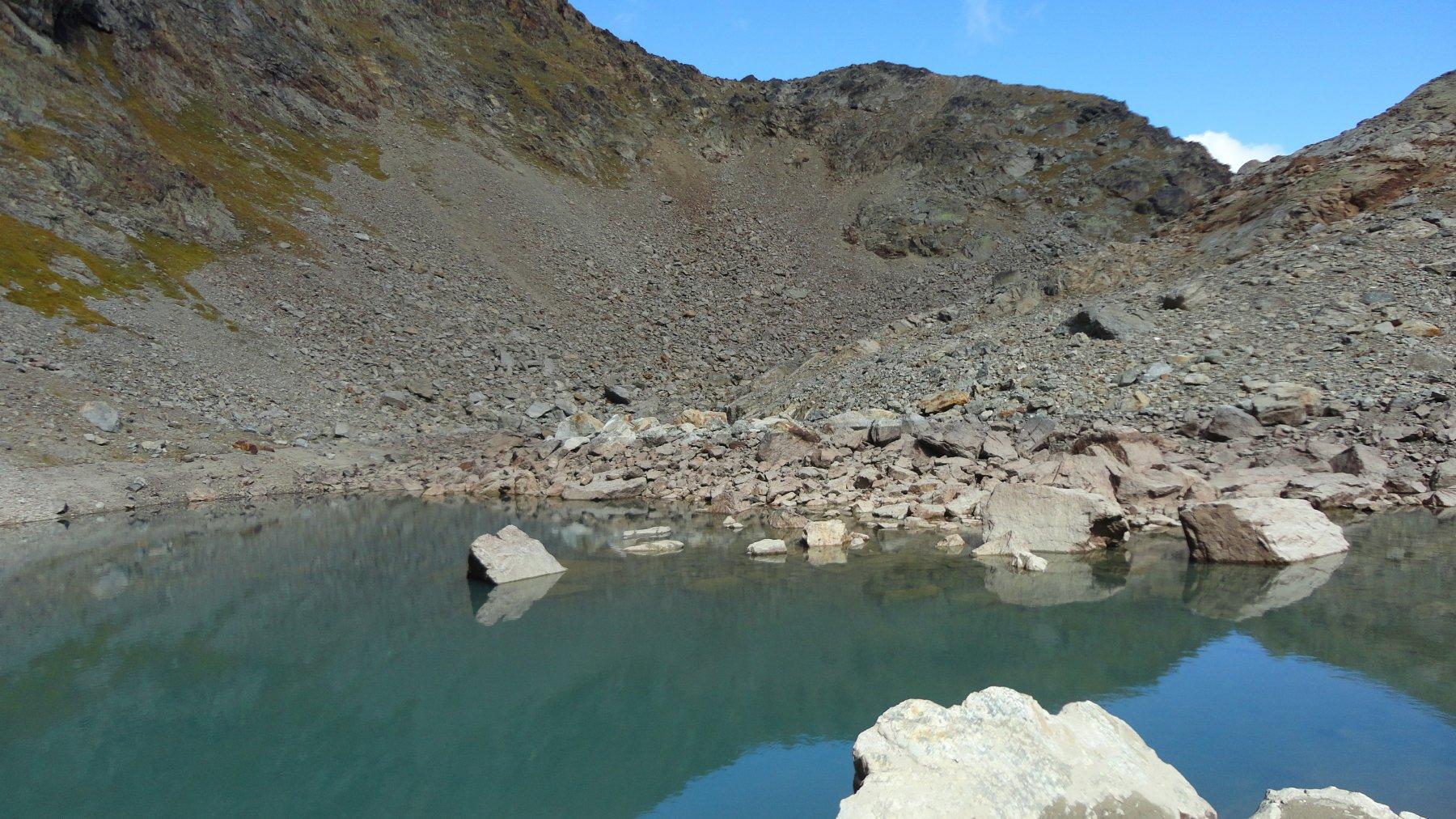 Lac Jacquin o ghiacciato......