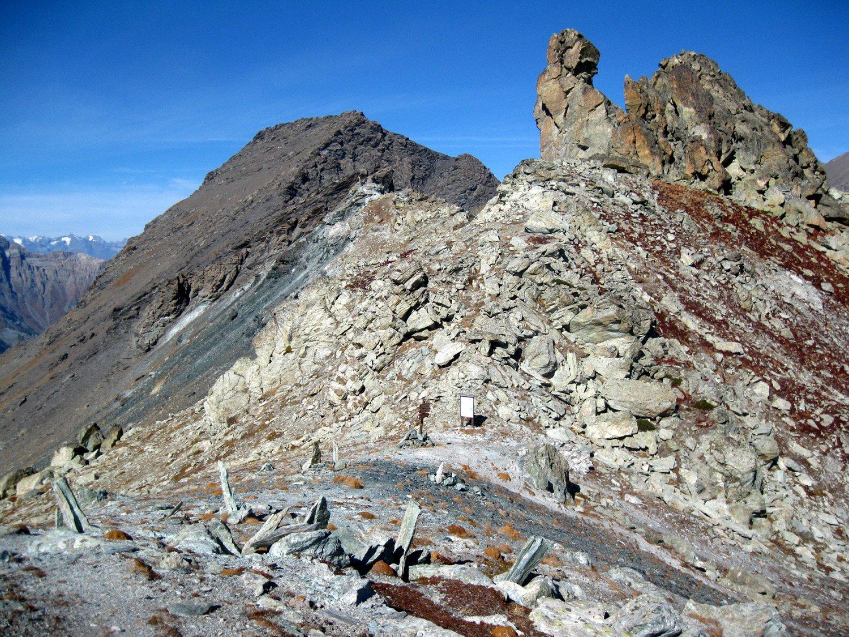 Col Clapis con con la Punta Fauri Sud