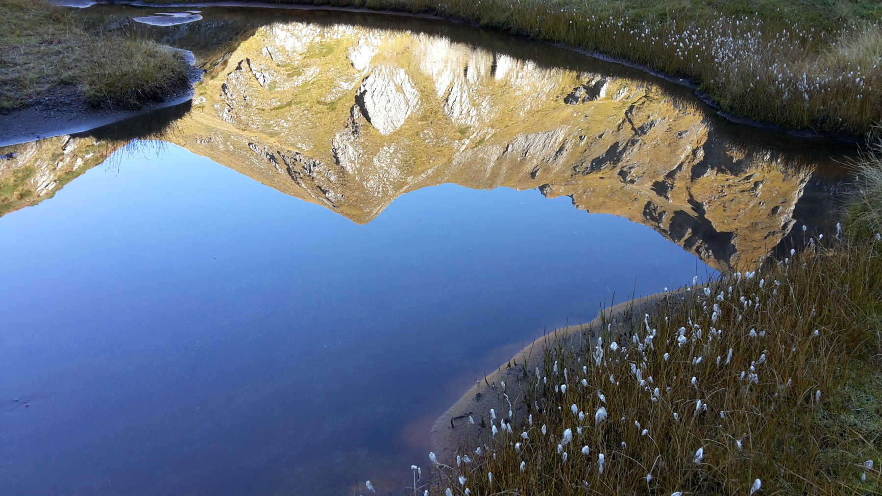lago morto effetti speciali al mattino