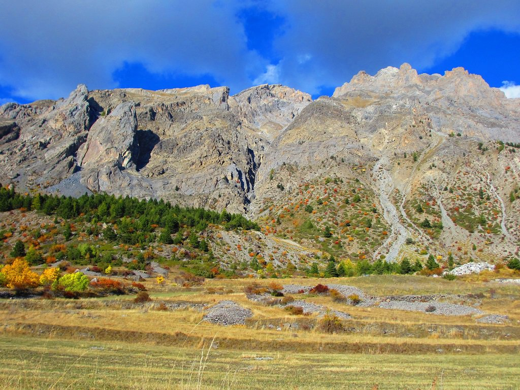 Courbe (Tète de la) da Saint Ours per il Col de Mirandol e la crestaNO 2017-09-29