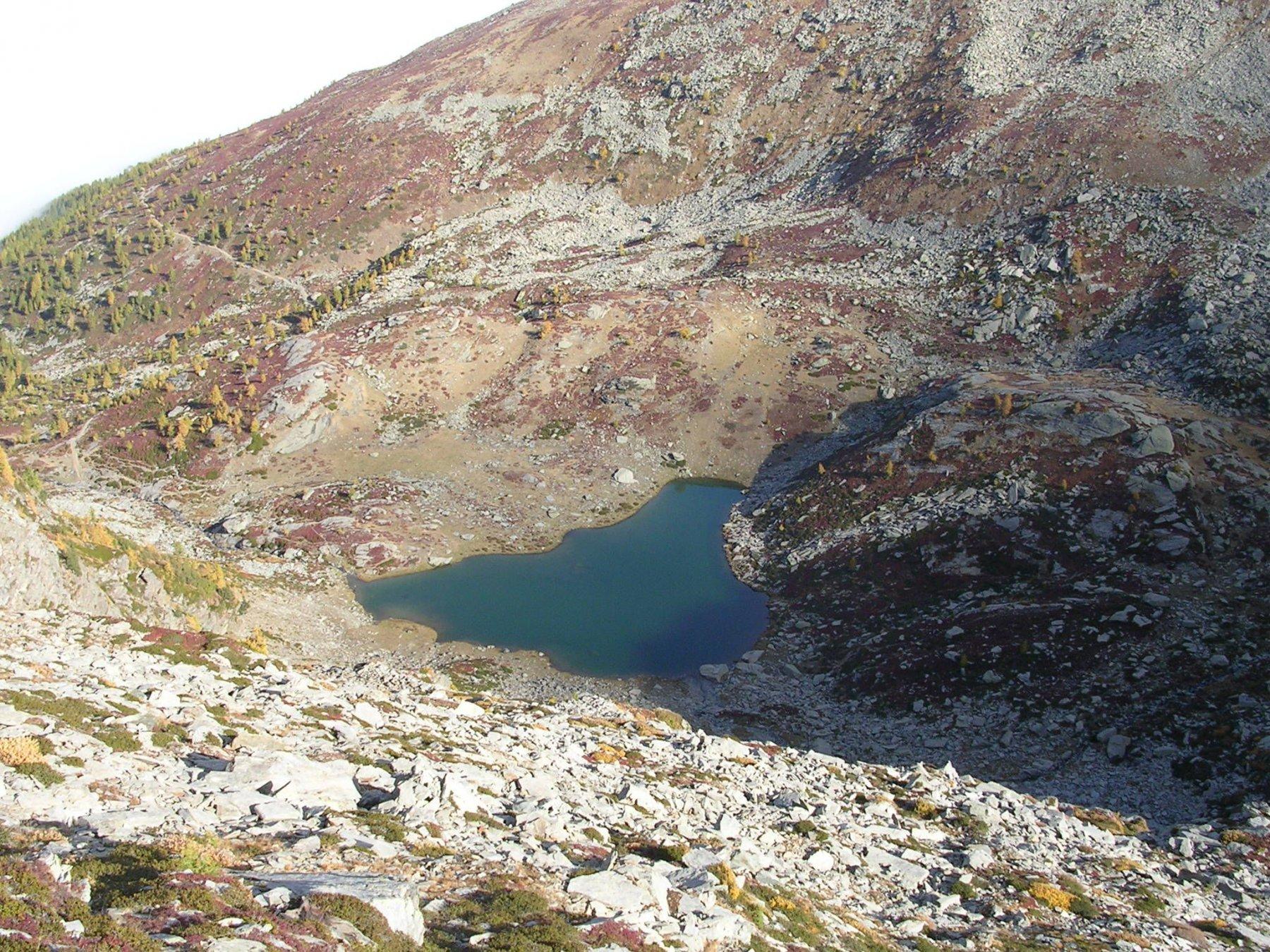 Il lago Envie