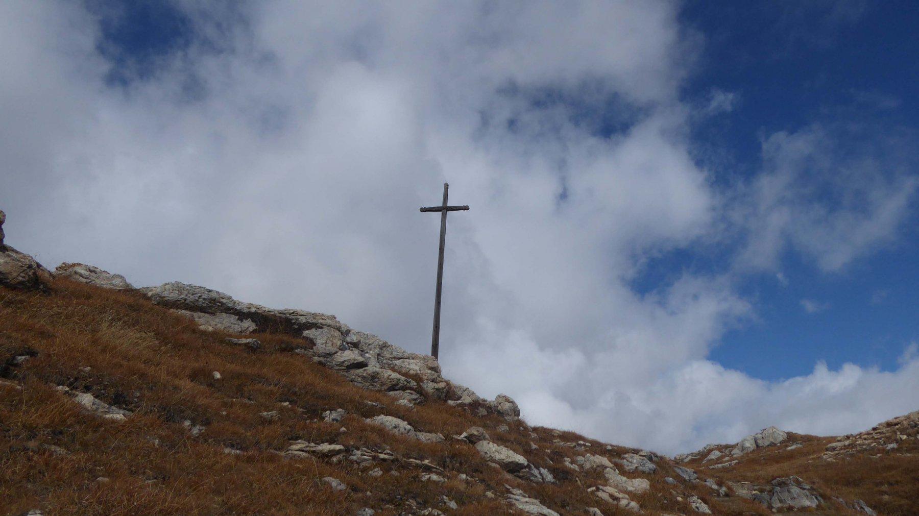 Croce al colle Du Salvè 2569 m