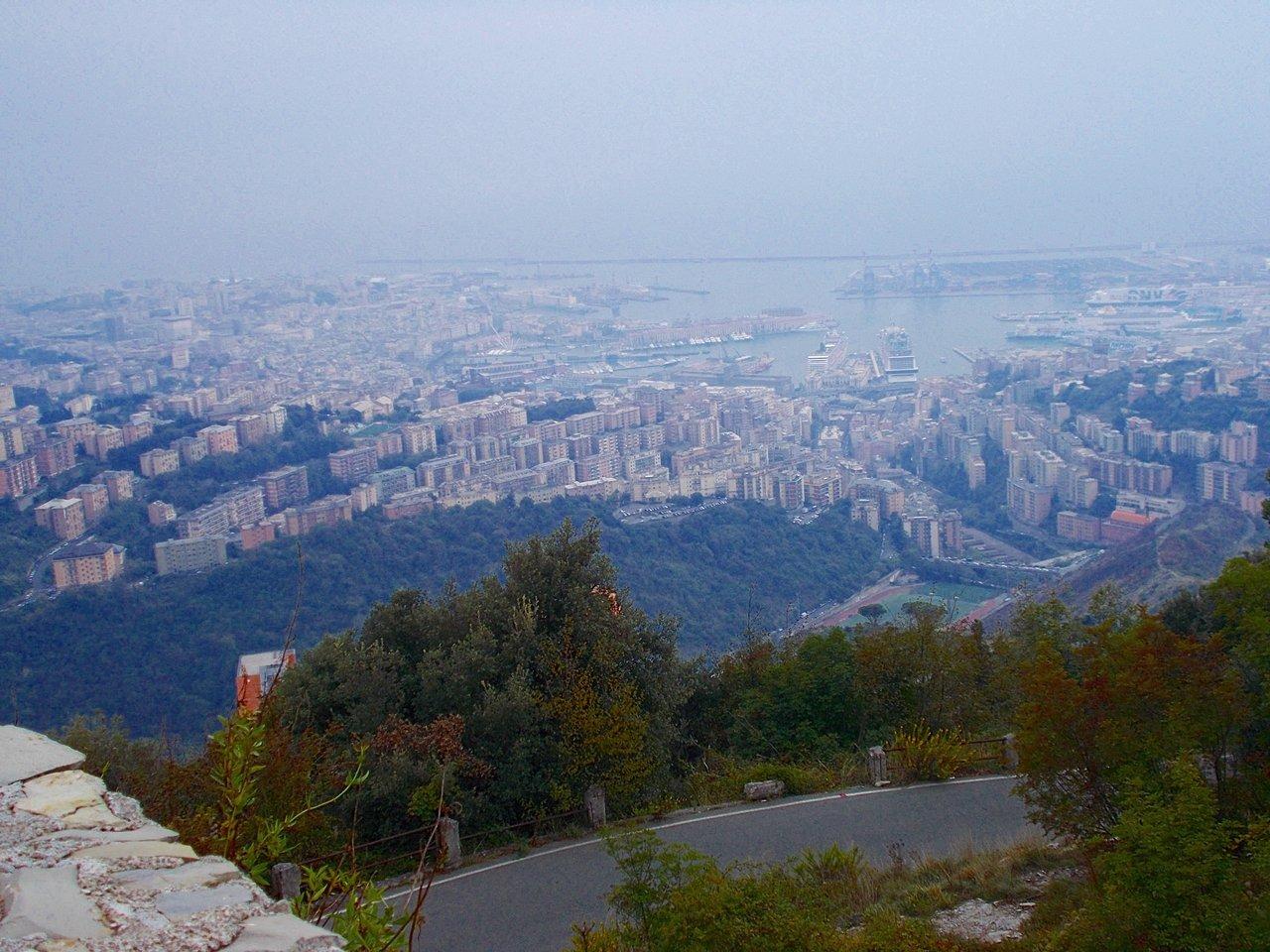 vista su Genova