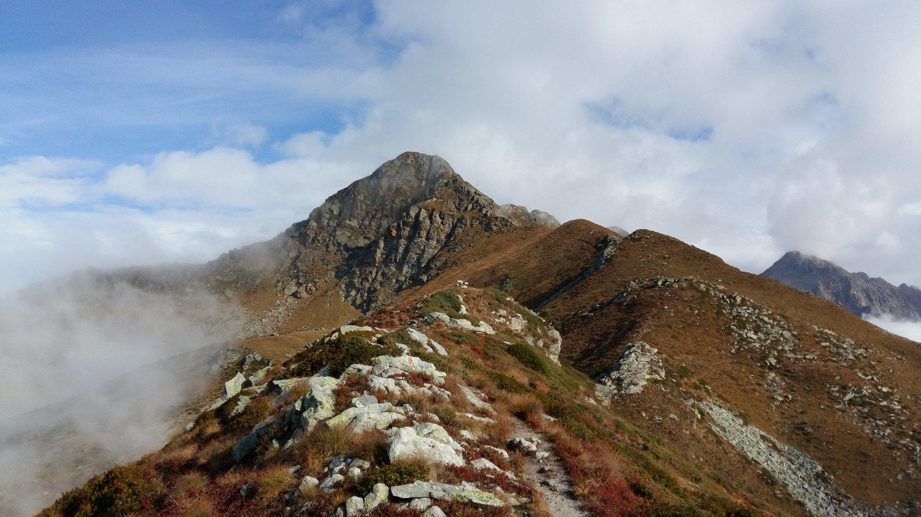 mont Roux dalla cresta