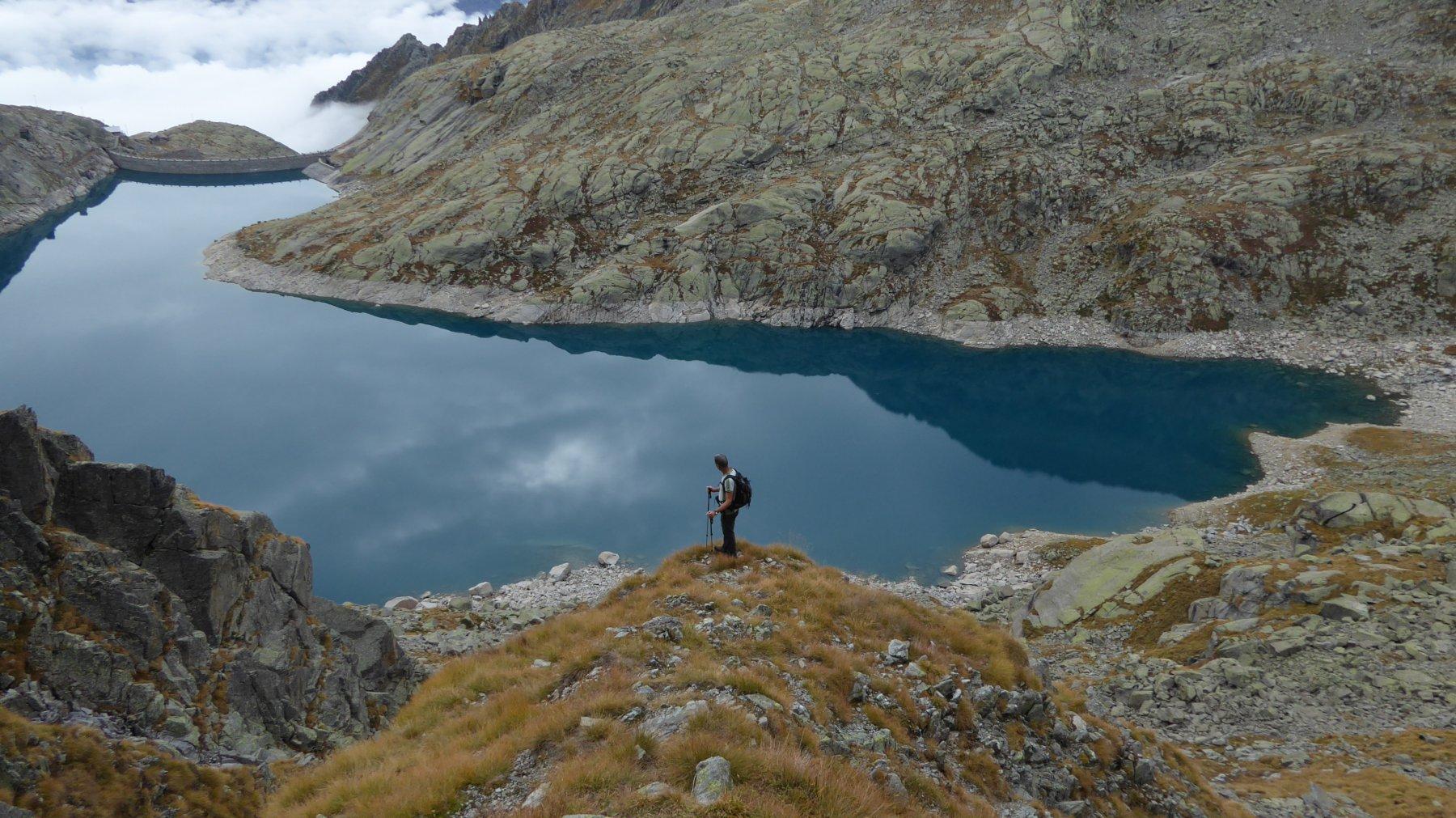 In discesa all'Alpe Valsoera