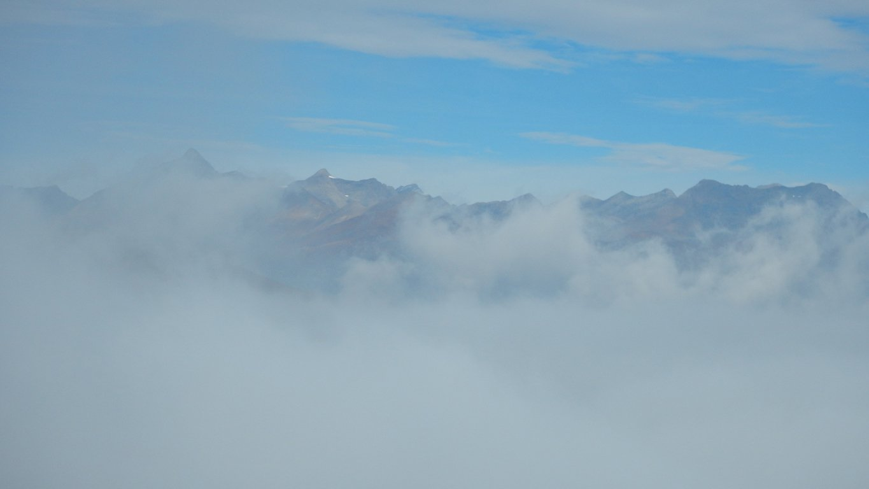 Ultima veduta prima di essere avvolti dalla nebbia
