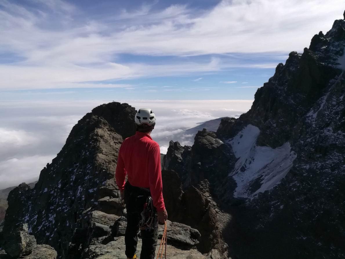 Dalla cima verso le altre 2 vette del Visolotto