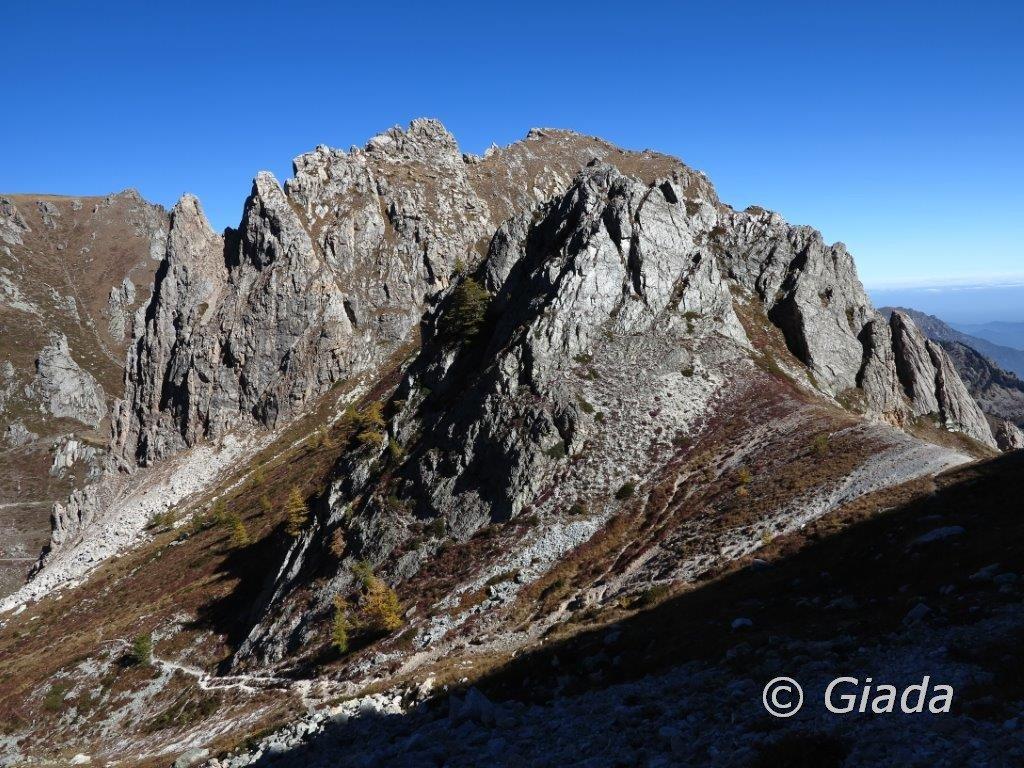 Verso la Rocca Parvo