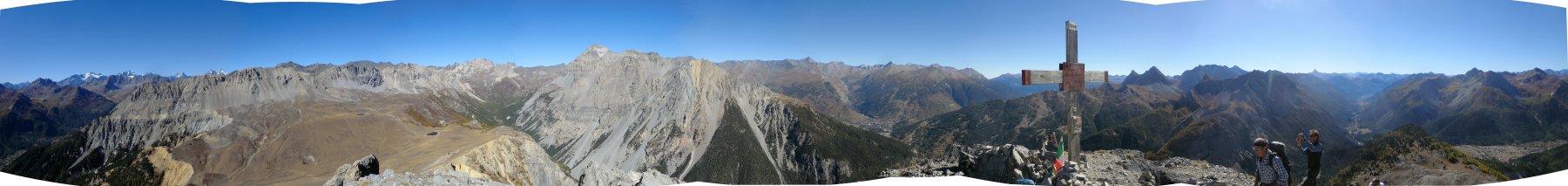 Panorama di vetta, a 360°