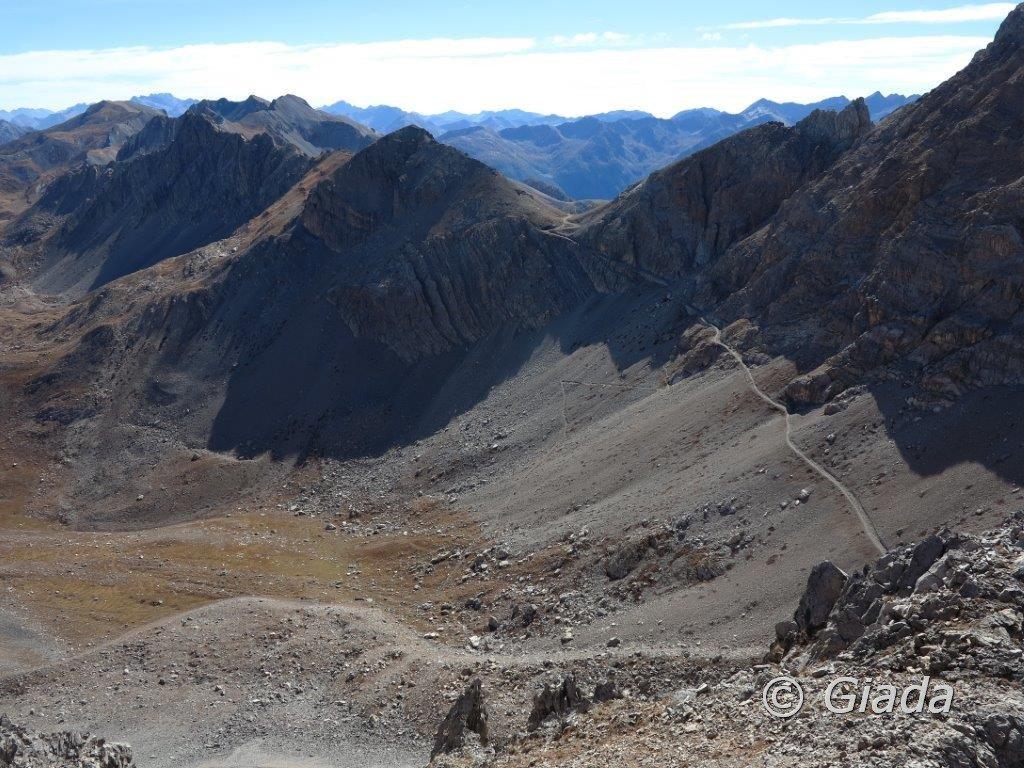 Panorama verso il Passo di Rocca Brancia