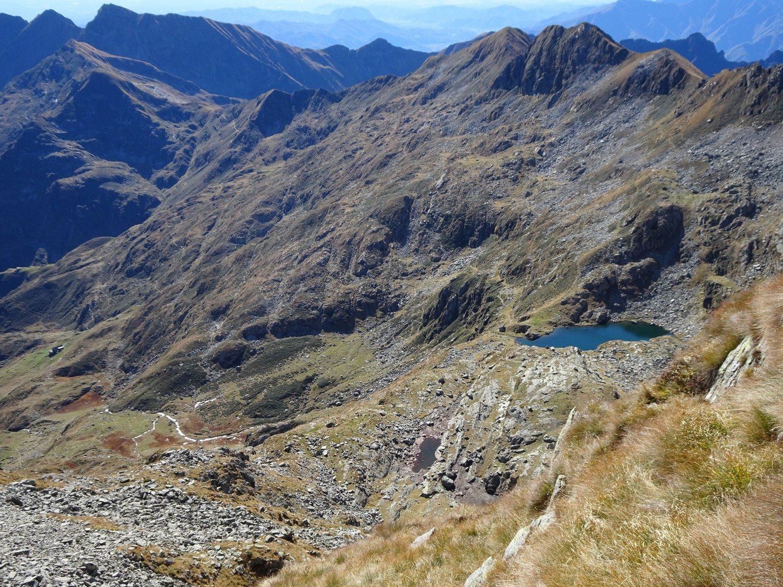 Itinerario di salita dall'Alpe Capezzone al rif traglio