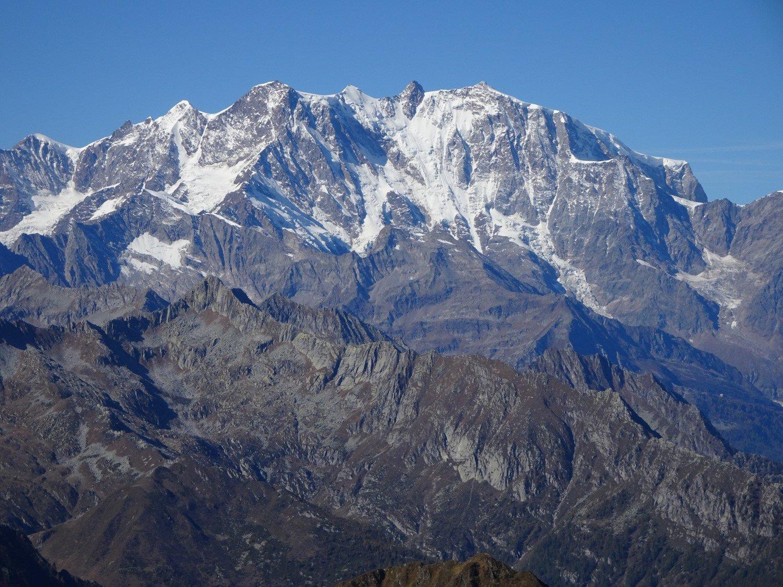 Monte Rosa dalla vetta