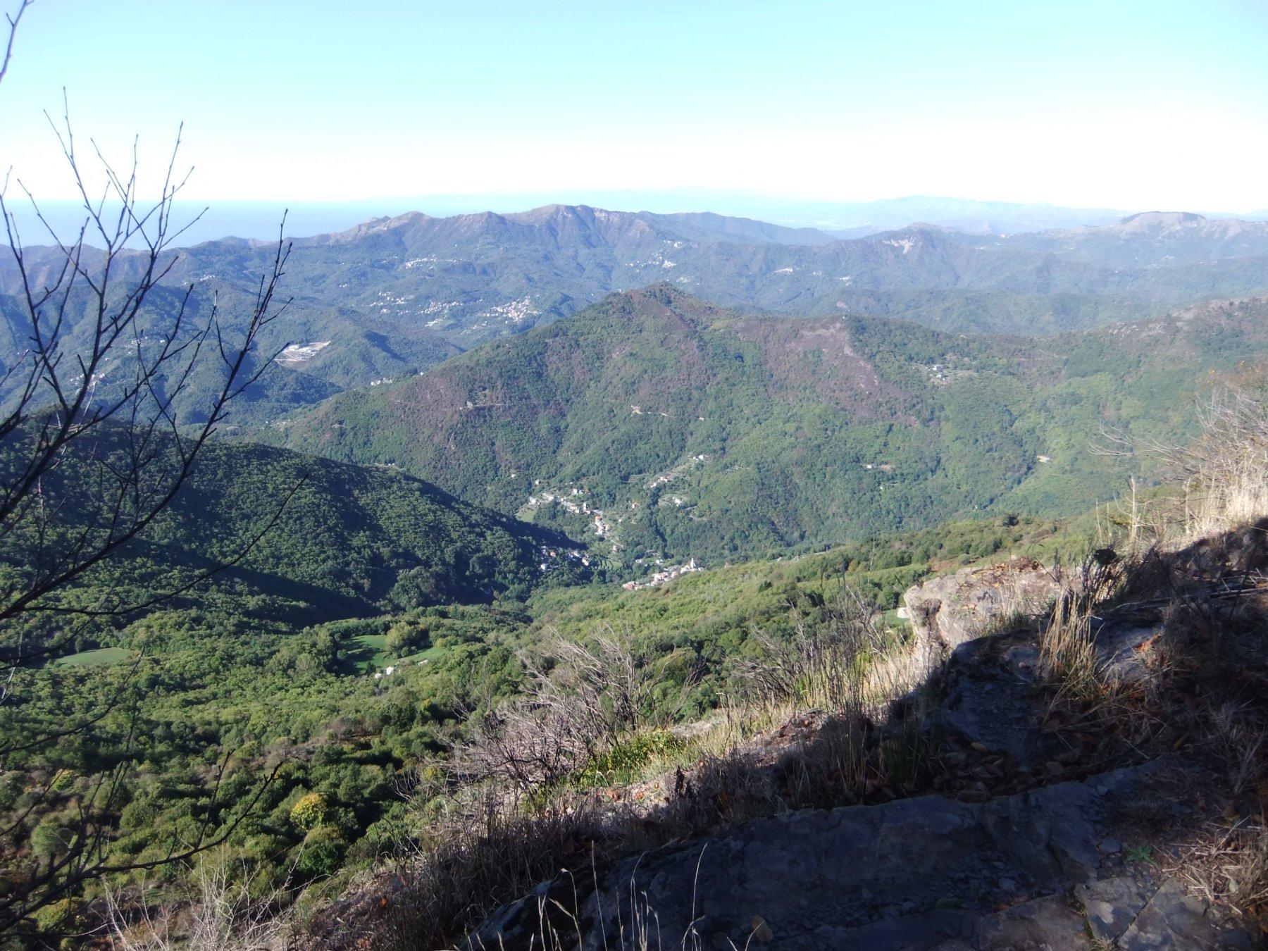 Panorama dalla Rocca Cavallina