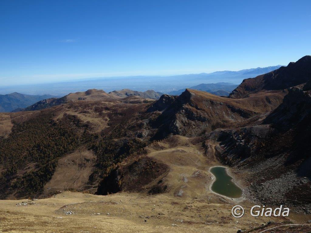 Piovosa (Punta la) dal Colle Intersile, anello per Rocca della Comunetta e Monte Cialmé 2017-10-07