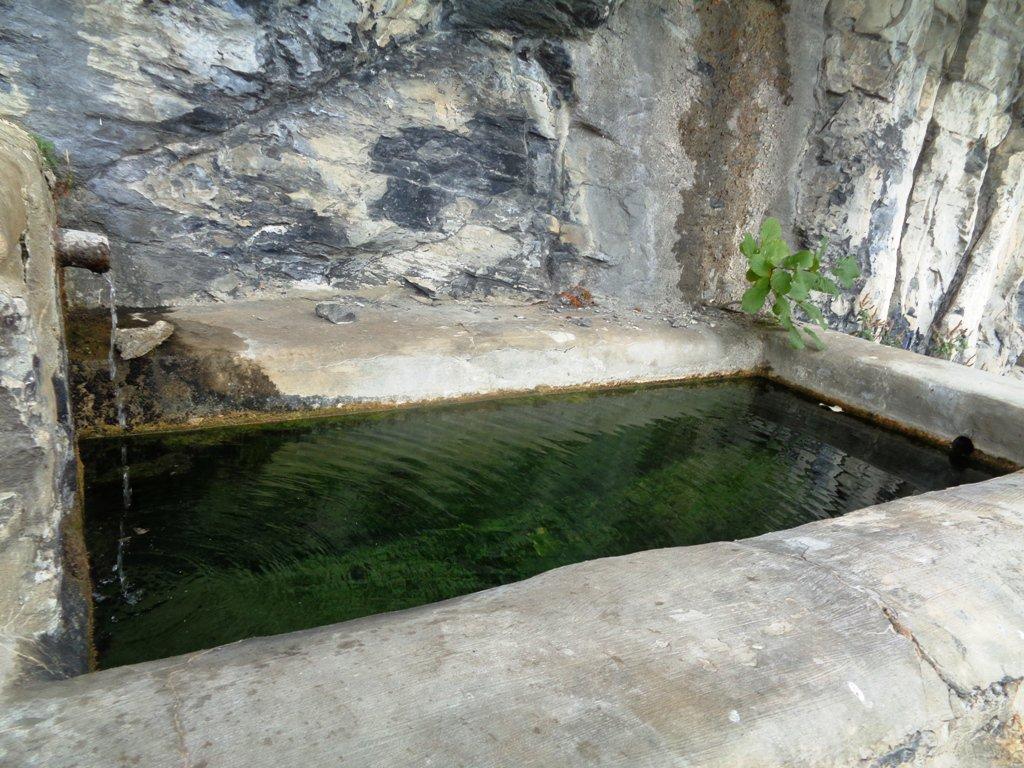 fontana San Martino, l'unica funzionante