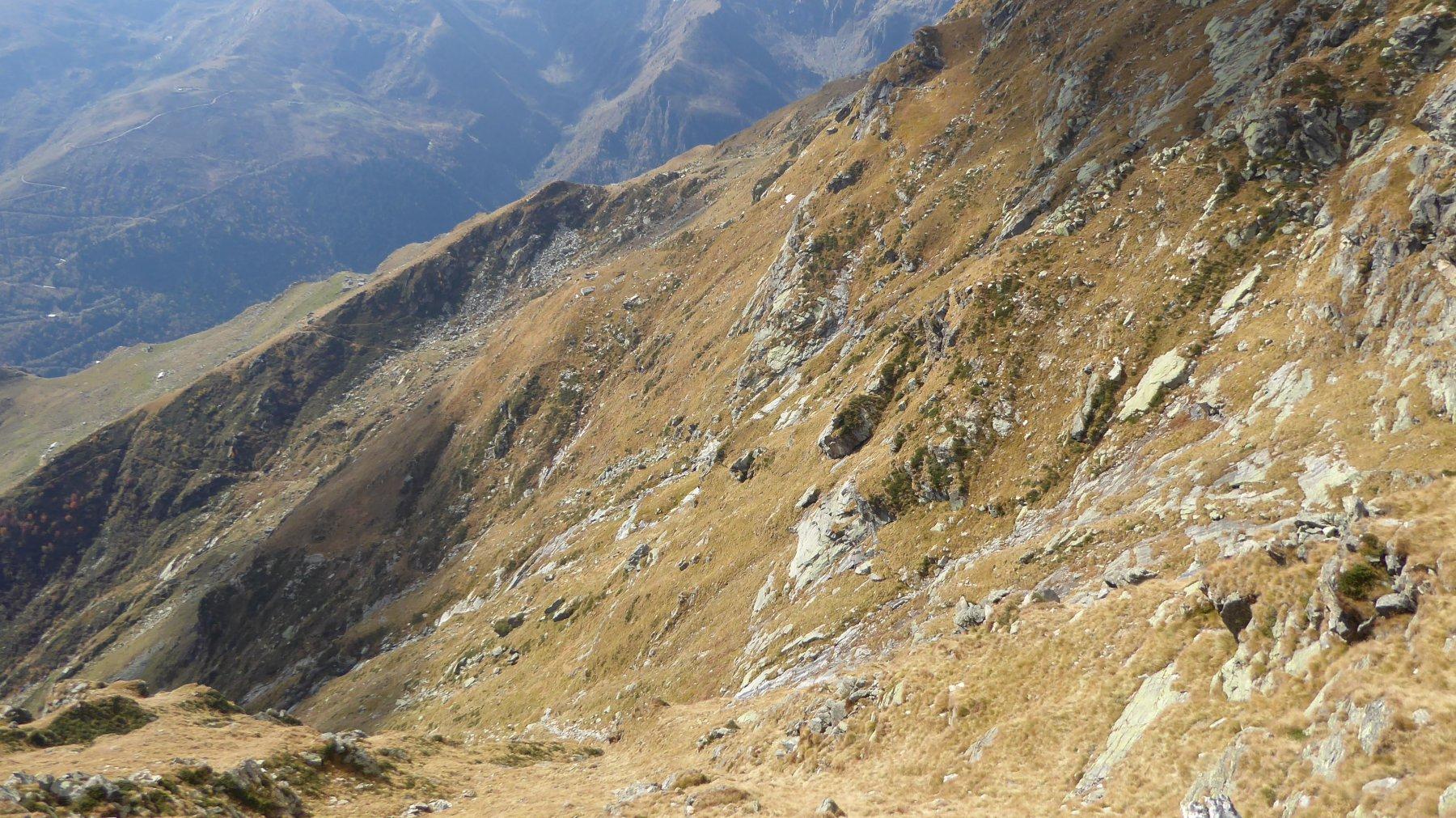 Versante di discesa e traverso all'Alpe Roch, Mojera e Pianezza