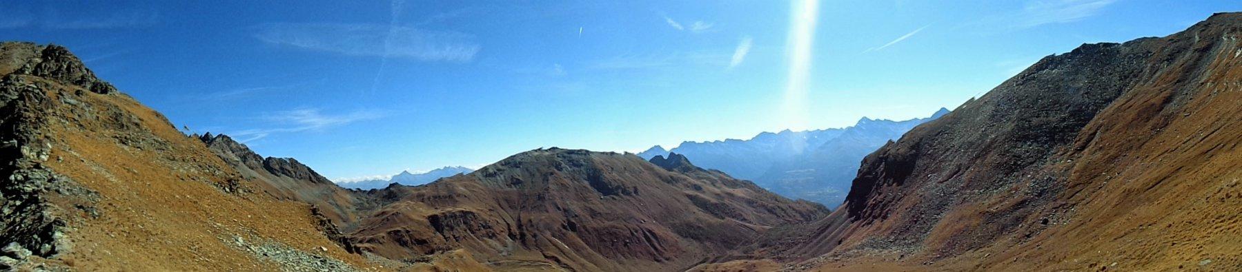 Panorama verso Mont Grand Pays