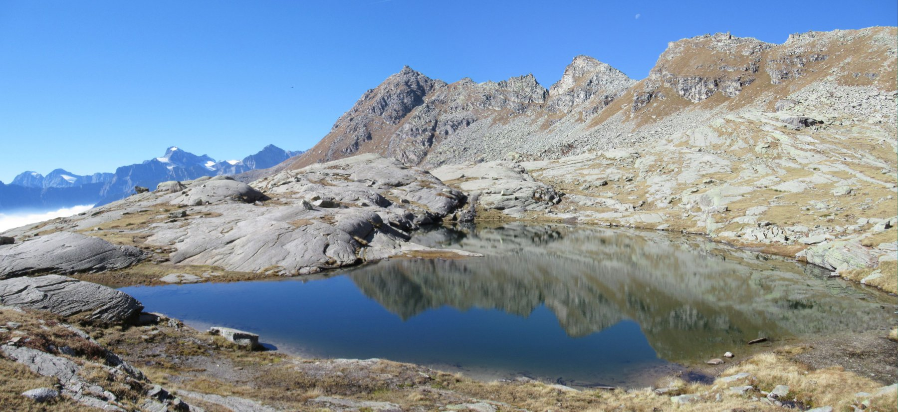 Lago di Vercellina m. 2432