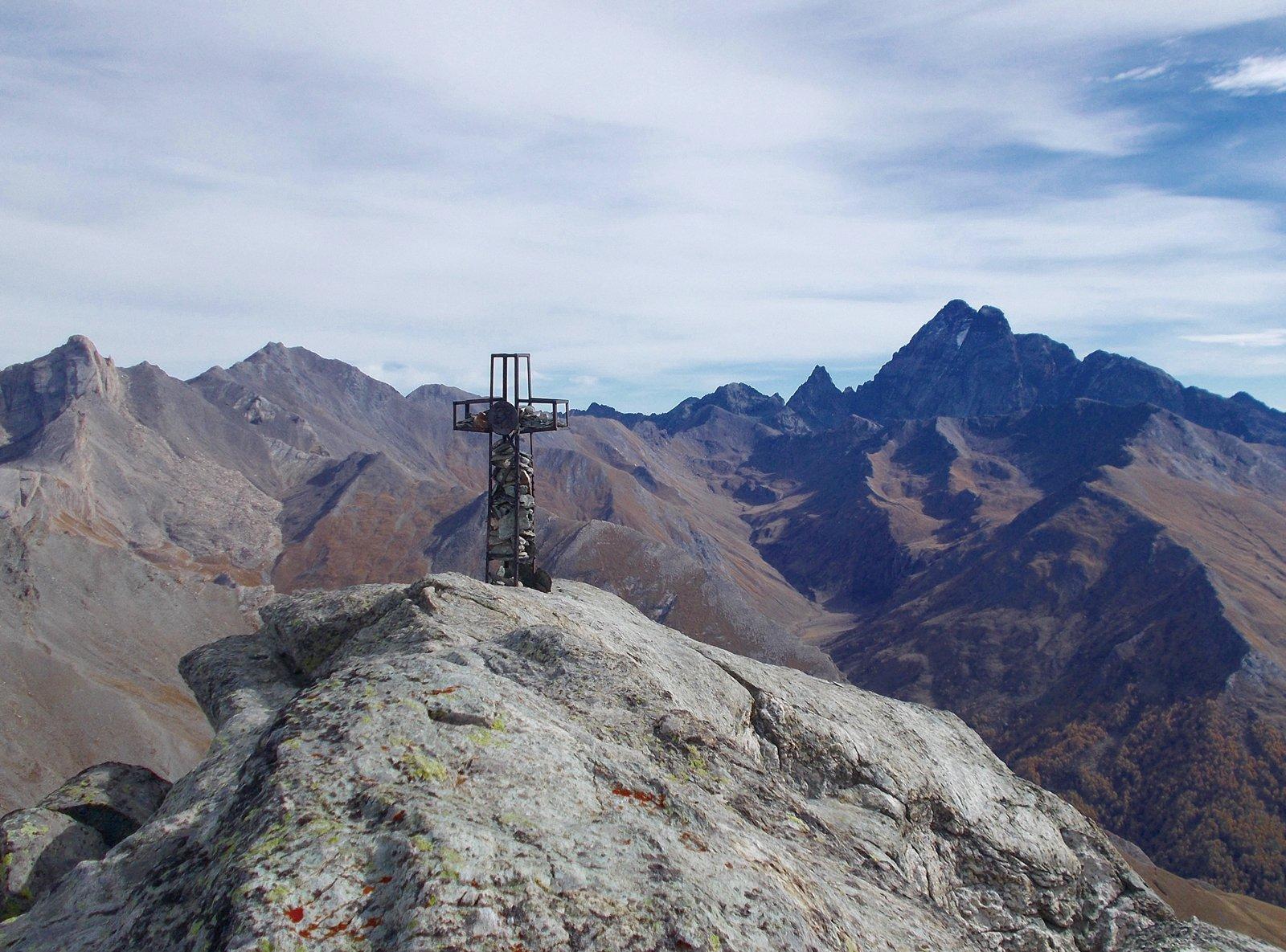la cima più bassa della Rocca Bianca
