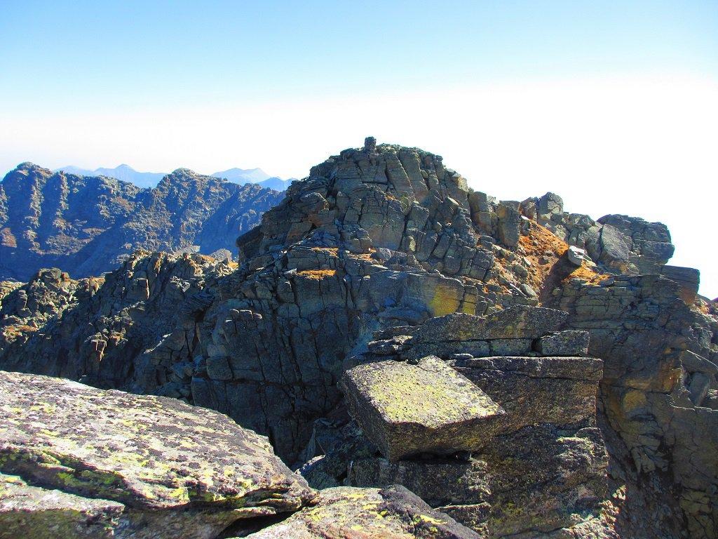 Dal Torrione la cima Giardonera Sud