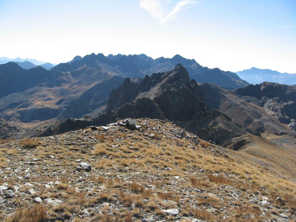 Panorama dal monte Aiga