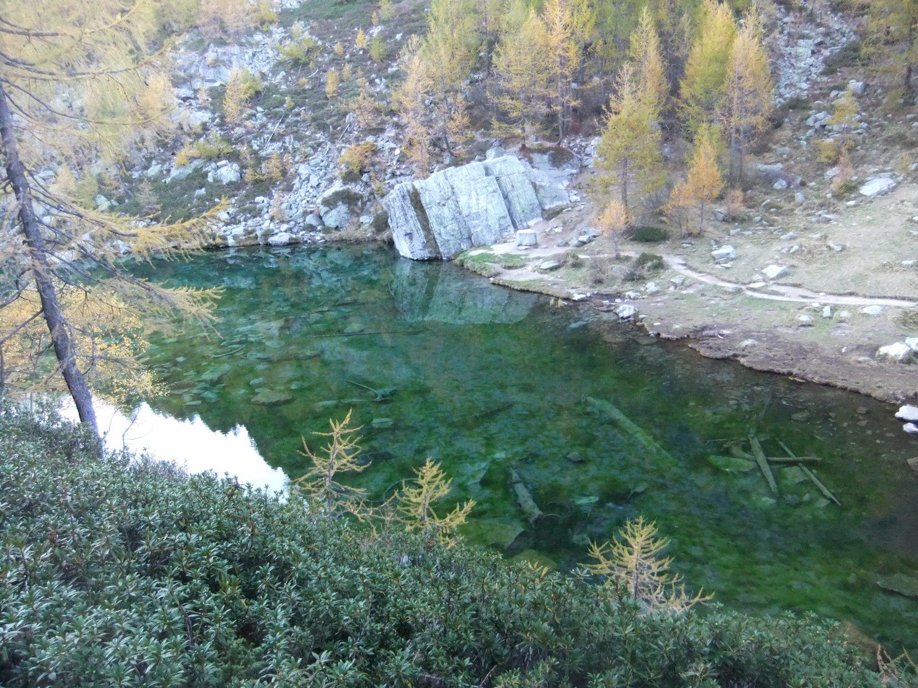 Lago delle Streghe al pomeriggio