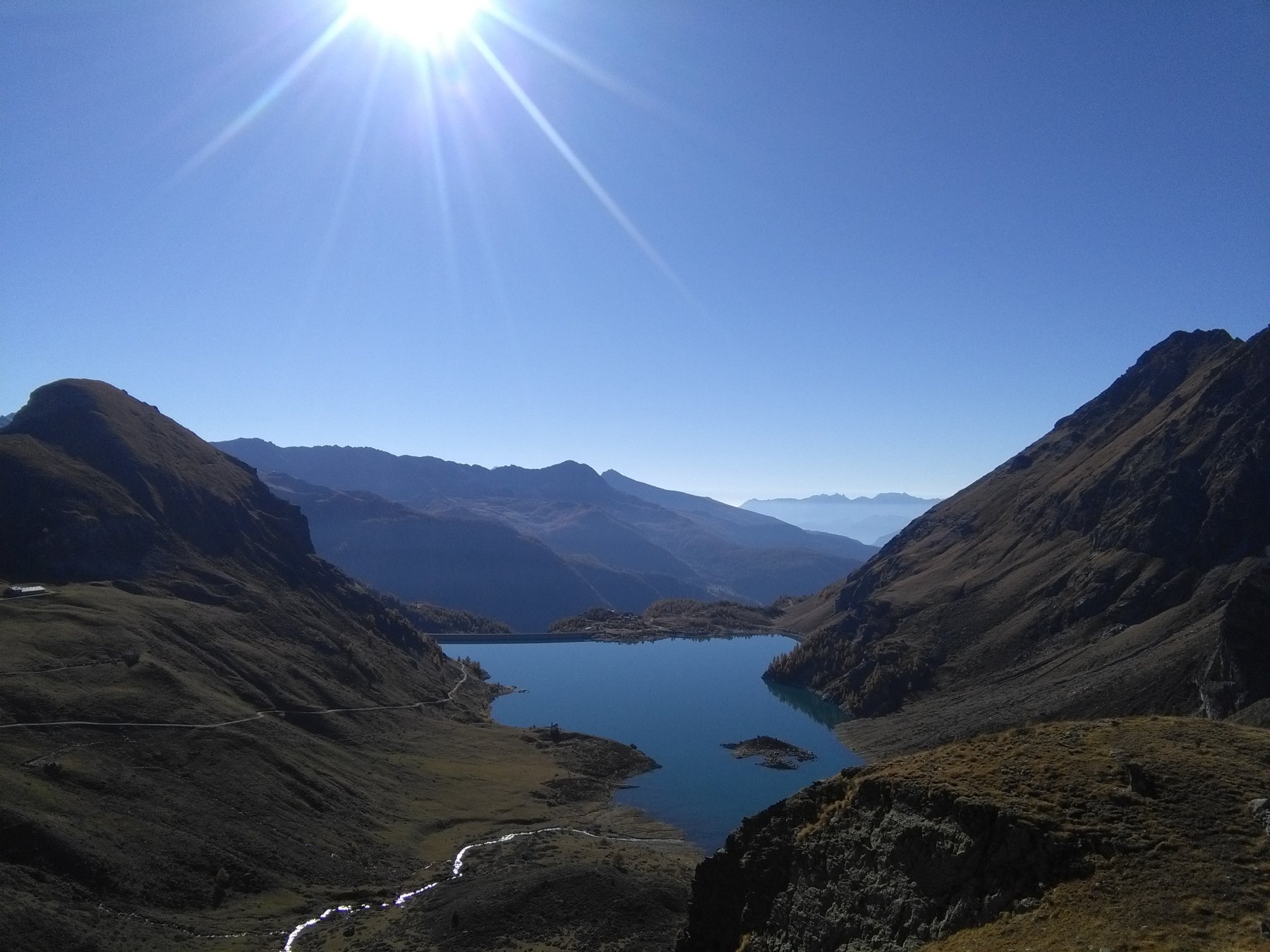 Lago cignana