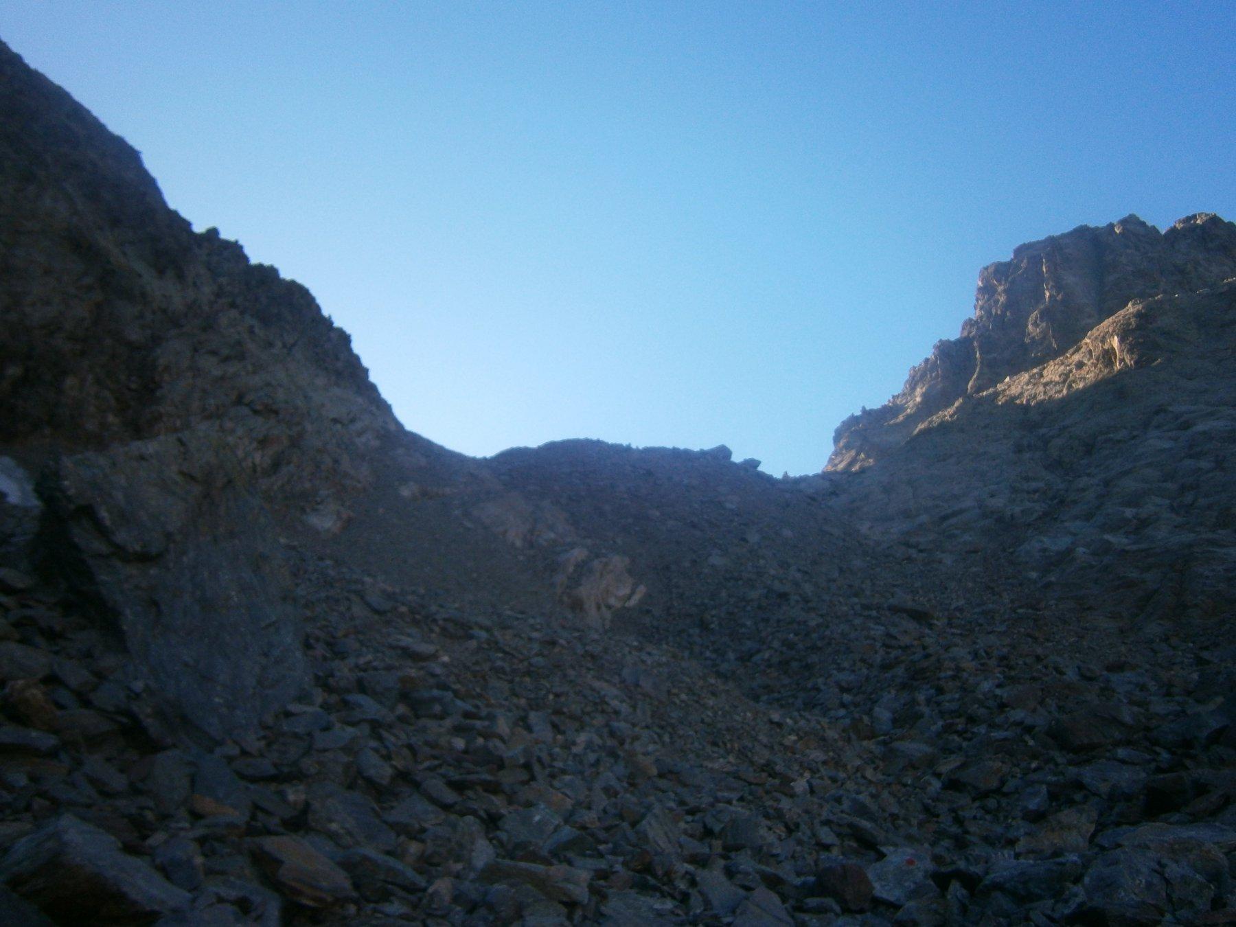 Salendo al passo del Vallone