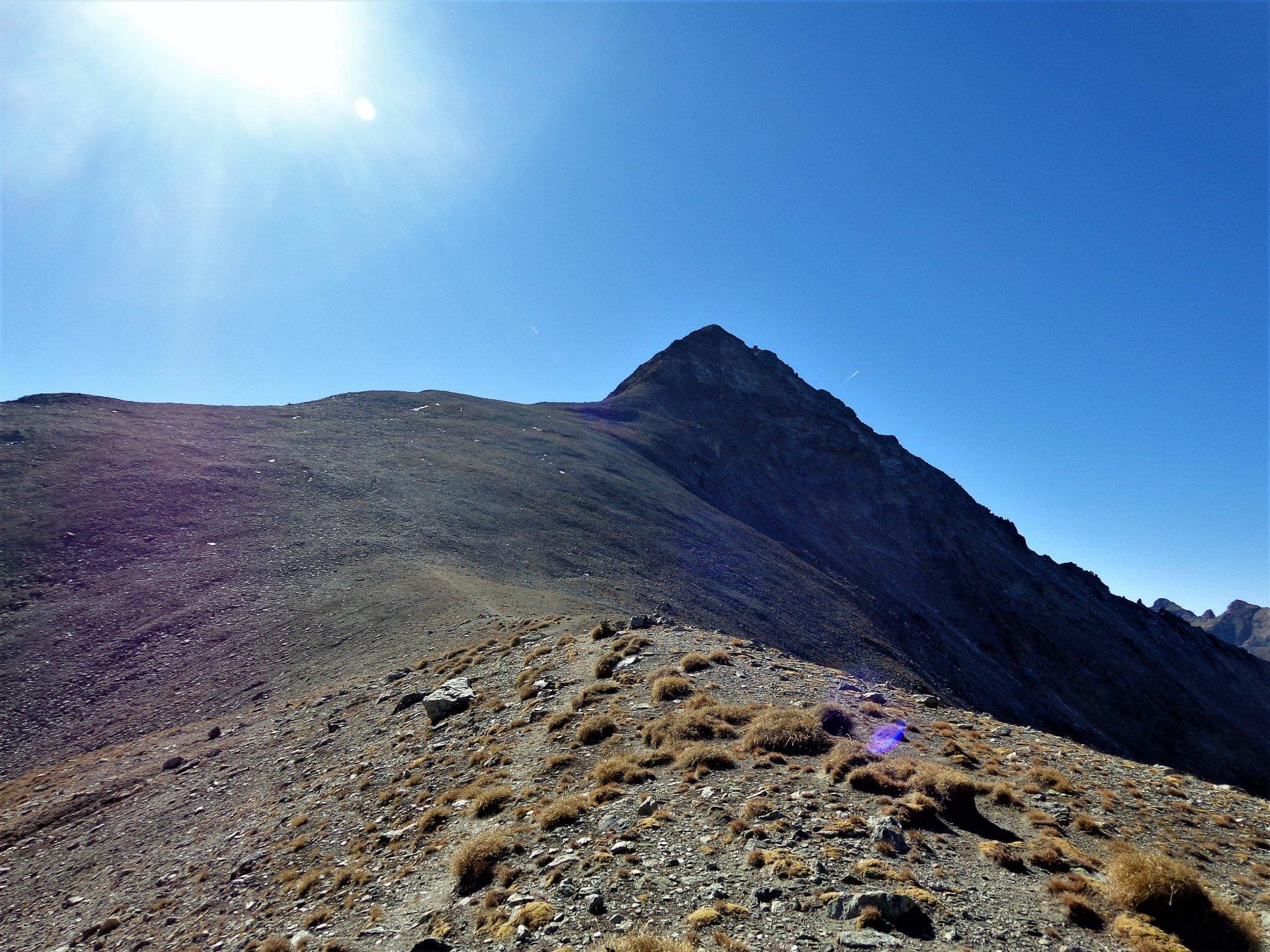 La salita al Mont Faroma
