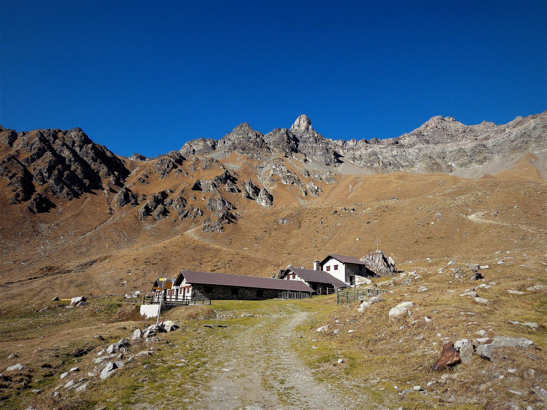 Arriviamo all'Alpe Champanement quota 2333m