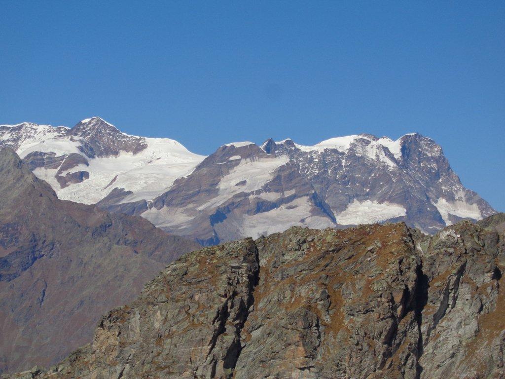 Monte Rosa dalla Cima Lazouney