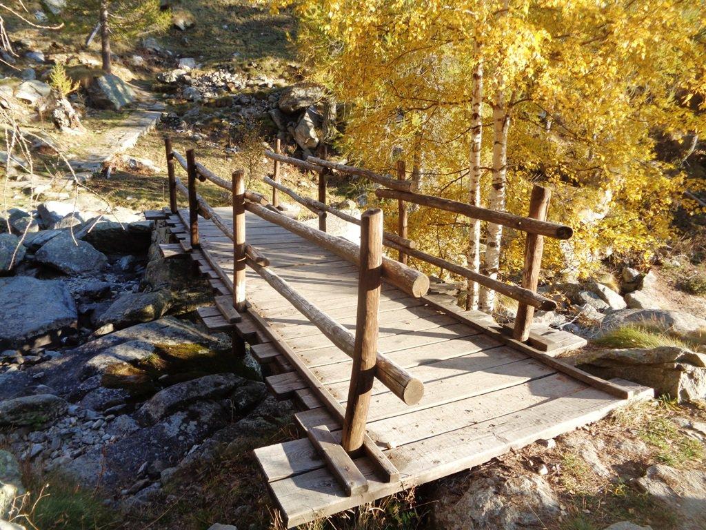il ponte a 1700m