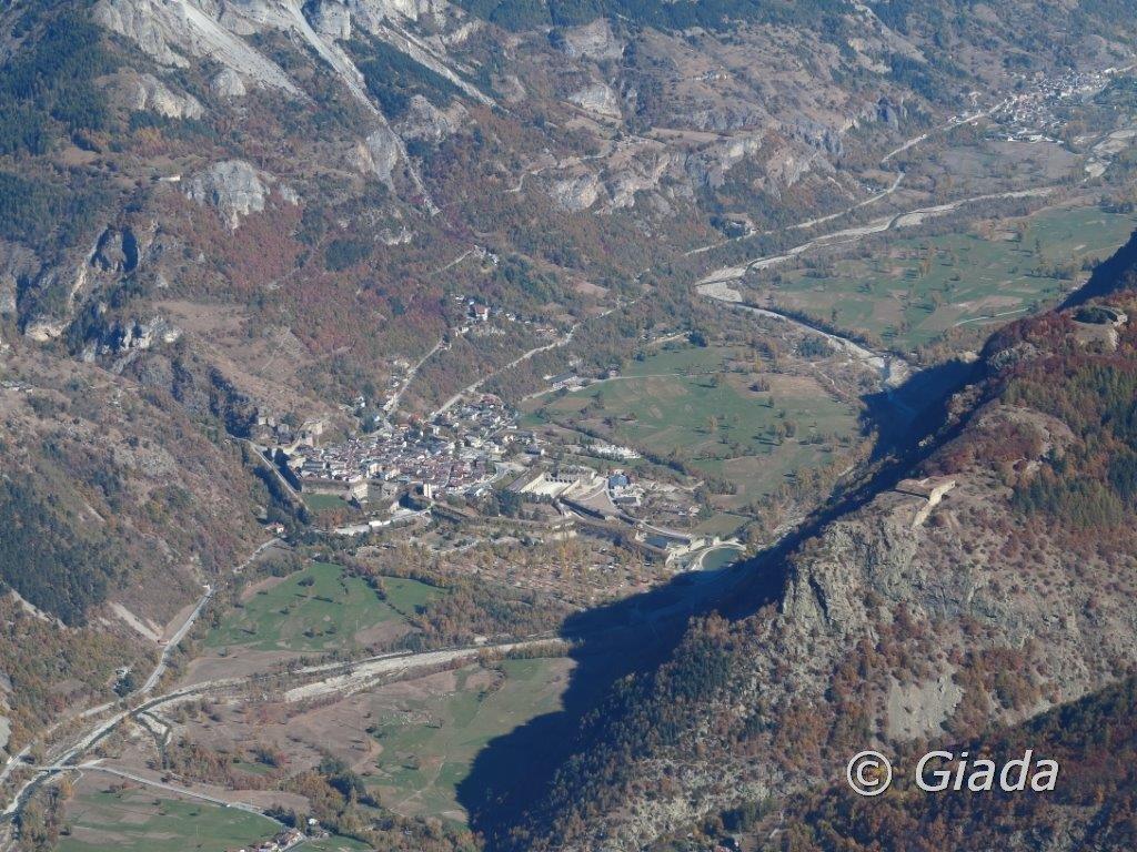L'imponente, per l'epoca, sbarramento fortificato di Vinadio